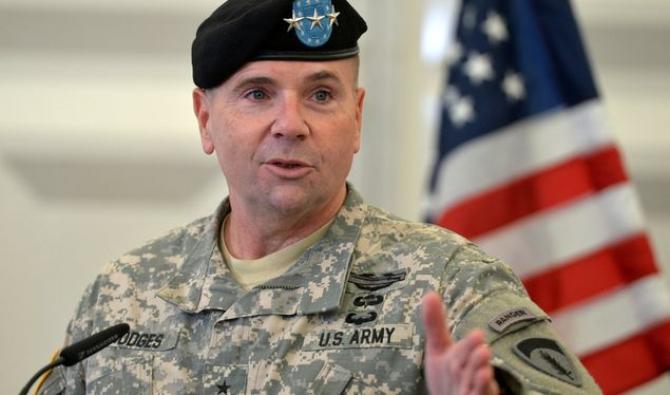Fostul comandant al forţelor americane în Europa, generalul Ben Hodges