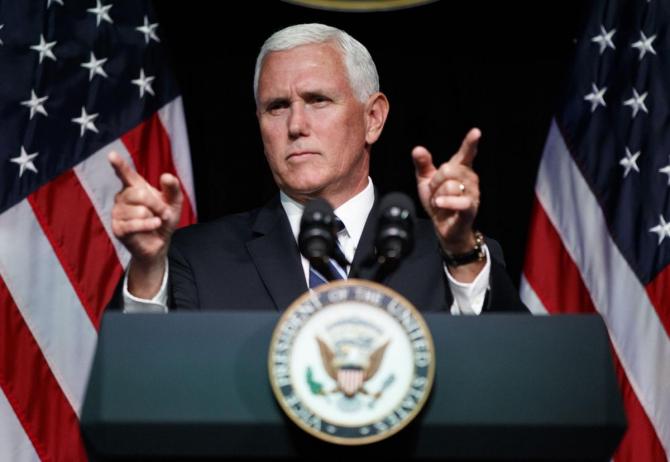 vicepreşedintele Statelor Unite, Mike Pence