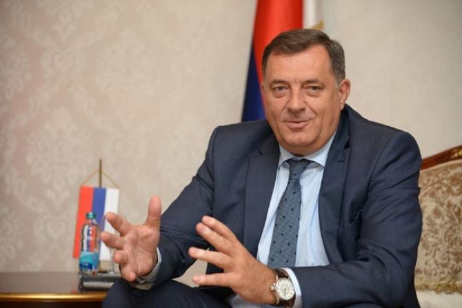 Președintele Republicii Srpska, Milorad Dodik