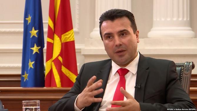 Premierul macedonean Zoran Zaev