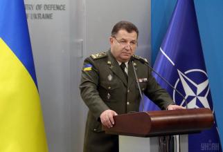 Ministrul ucrainean al Apărării, Stepan Poltorak