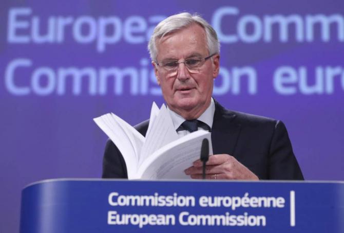 Negociatorul-şef al UE pe problema Brexit Michel Barnier