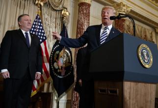 Mike Pompeo și Donald Trump