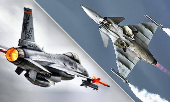 F-16 - Gripen