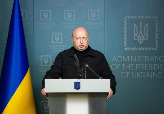 secretarul Consiliului Național pentru Securitate și Apărare Oleksandr Turcinov