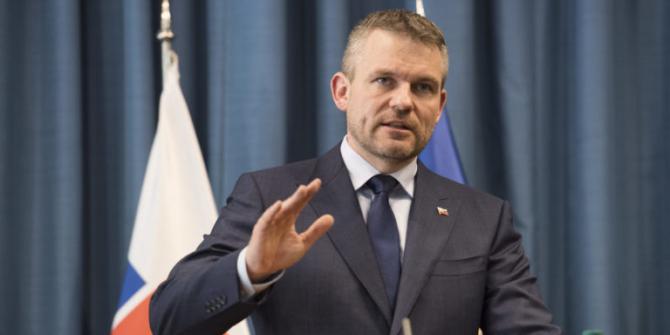 premierul slovac Peter Pellegrini