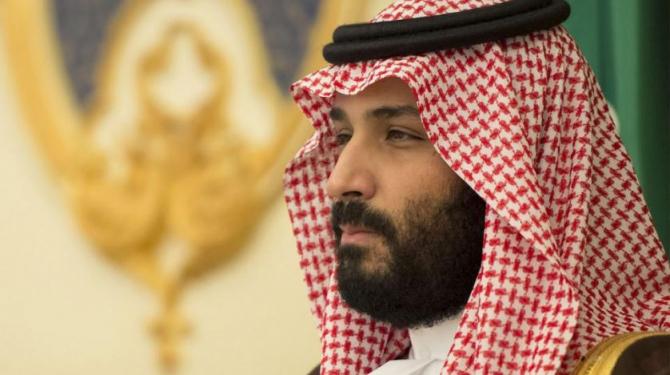 prinţul moştenitor saudit, Mohammad bin Salman