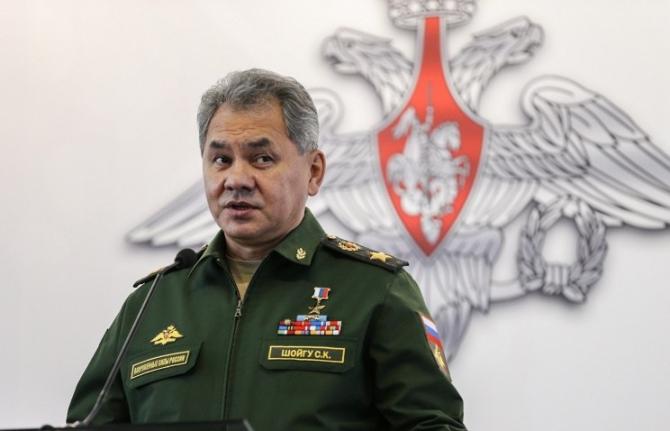 ministrul rus al apărării, Serghei Şoigu