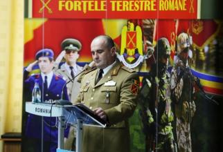 Şeful Statului Major al Forţelor Terestre, generalul-maior Ovidiu-Liviu Uifăleanu