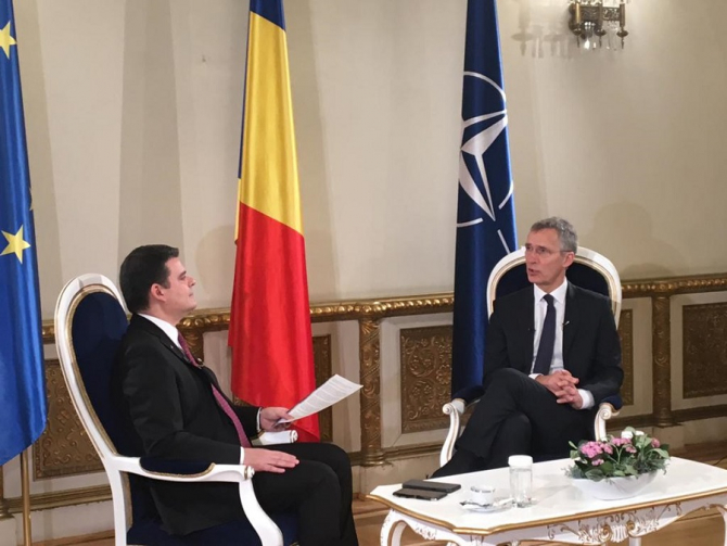 Secretarul general al NATO, Jens Stoltenberg. foto: radu-tudor.ro