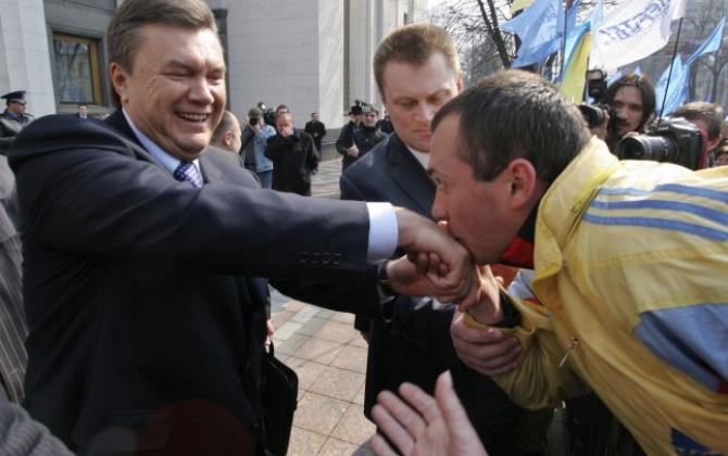 Viktor Ianukovici, fostul președinte al Ucrainei