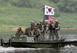 Trupe SUA, în Coreea de Sud