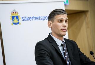 Daniel Stenling, şeful Departamentului de contrainformaţii din cadrul Serviciului securităţii statului din Suedia.