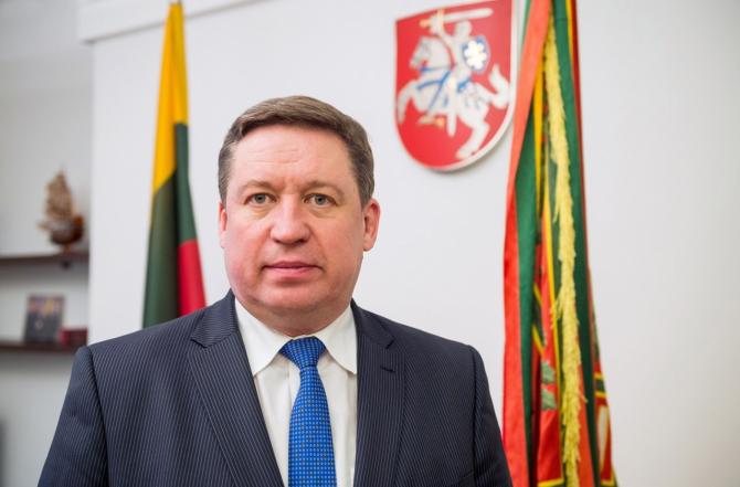 Ministrul lituanian al apărării, Raimundas Karoblis