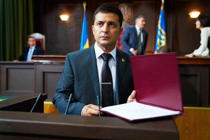 preşedinte ucrainean Volodimir Zelenski