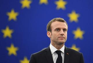 Preşedintele francez, Emmanuel Macron