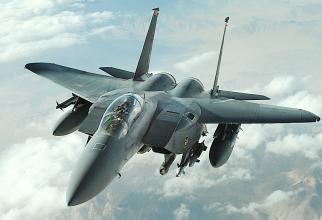 F-15E Strike Eagle, Sursă foto: USAF