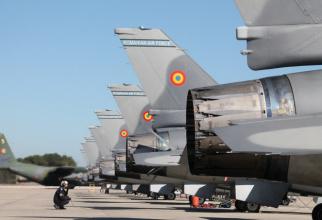 F-16, România. Sursă: MApN