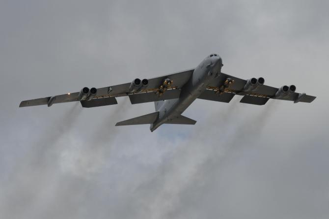 Bombardier strategic B-52, sursă: US Air Force