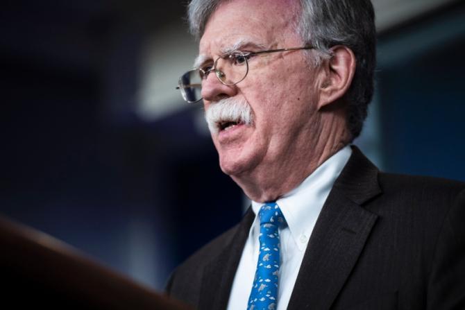 Consilierul pentru securitatea naţională al preşedintelui american John Bolton