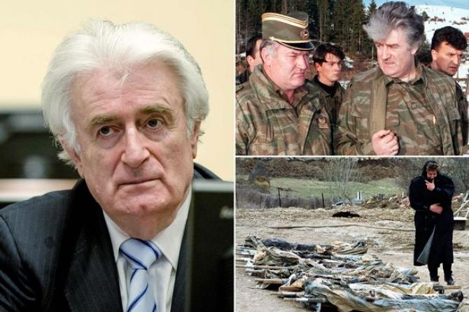 fostul lider politic al sârbilor din Bosnia, Radovan Karadzic