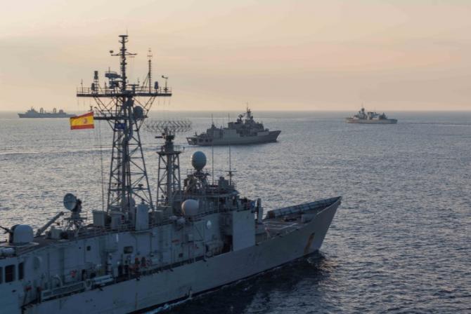fregata ESPS Santa Maria F-81/F.Nvl. Spania