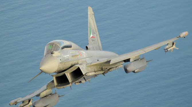 Rachete MBDA Storm Storm Shadow/SCLAP, integrate pe un Tornado ce aparține Italiei Sursă: MBDA