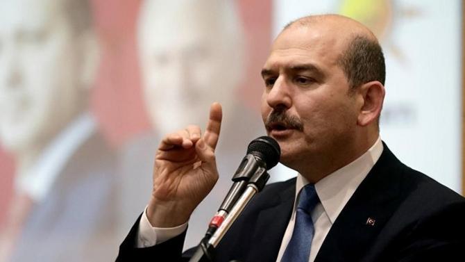 ministrul turc de interne Suleyman Soylu