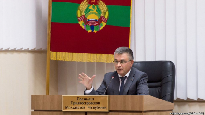 Liderul transnistrean Vadim Krasnoselski