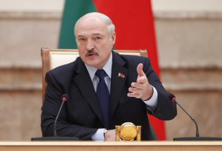 """Președintele din Belarus, Aleksandr Lukașenko a declarat că țara sa nu este amenințată că cineva o va """"încorpora"""" în ceva sau o va """"împărți""""."""