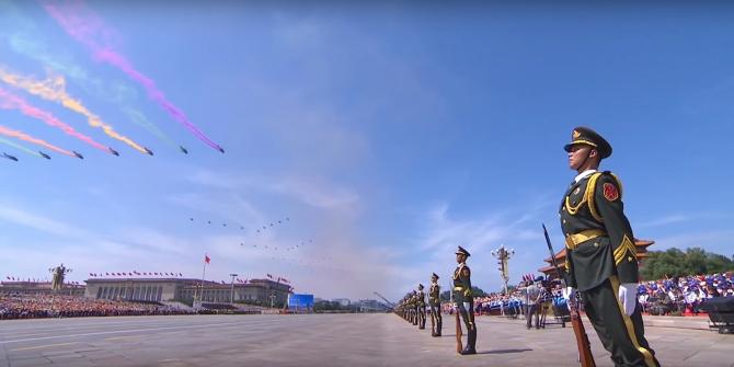 Armata Chinei, în 2015. Paradă militară la Beijing, în timpul căreia China și-a prezentat armamentul, sub privirile conducătorilor țării