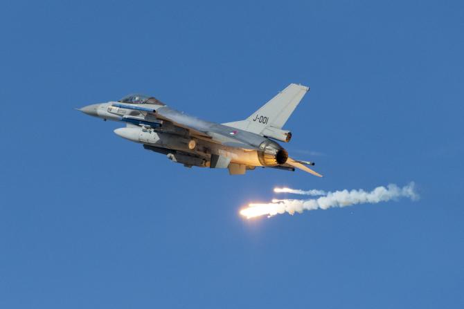 F-16, Olanda. Sursă foto: Forțelor Aeriene Regale ale Olandei