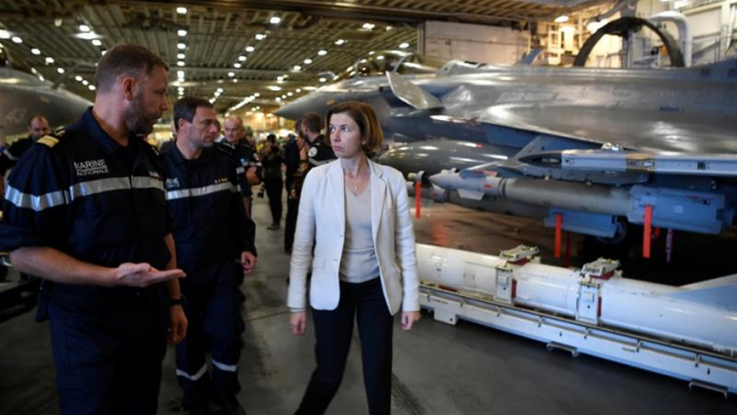 Ministrul francez al Apărării Florence Parly