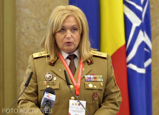 Gen. brig. conf. univ. dr. Florentina Ionita Radu, comandant Spitalul Universitar de Urgenta Militar Central Dr. Carol Davila