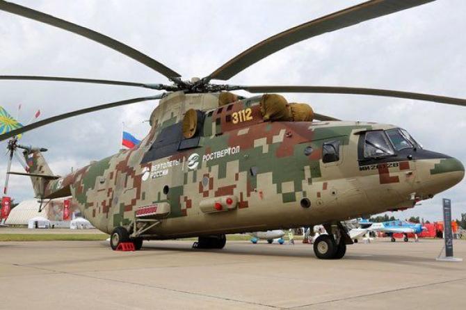 Mi-26T2V, Rusia