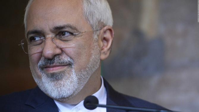 Ministrul iranian al afacerilor externe Mohammad Javad Zarif