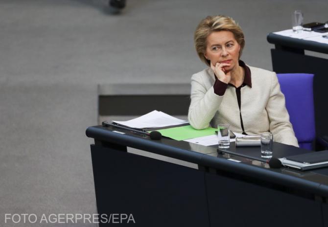 Ministrul german al apărării Ursula von der Leyen