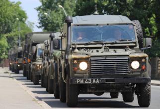 Convoi militar Sursă foto: MApN