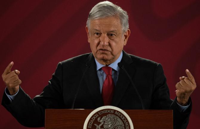 preşedintele mexican Andres Manuel Lopez Obrador