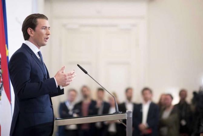 Cancelarul Austriei, Sebastian Kurz, cere declanșarea alegerilor anticipate după înregistrarea video compromițătoare care a dus la demisia lui Heinz-Christian Strache