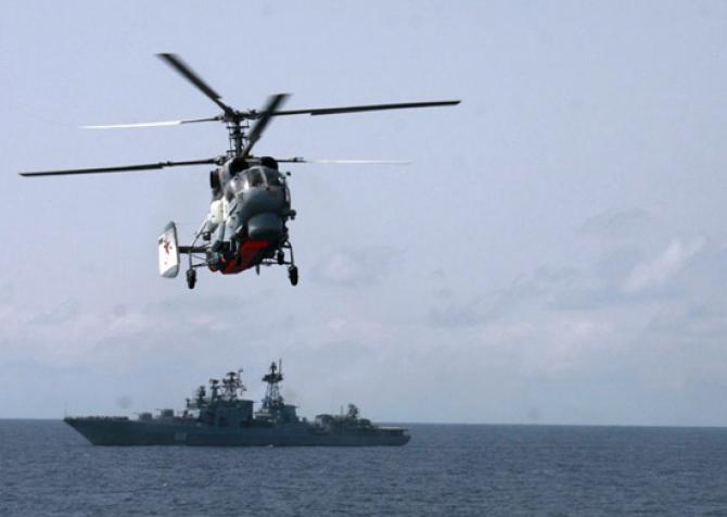 Elicopter Ka-27M, sursă foto: Ministerul Apărării din Rusia