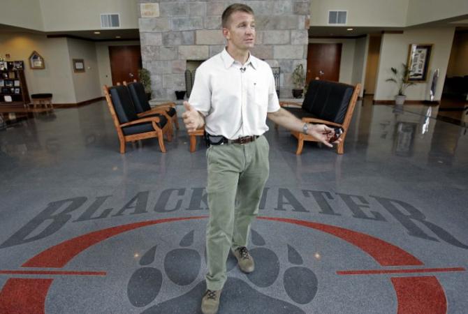Erik Prince, fondatorul controversate companii de securitate Blackwater