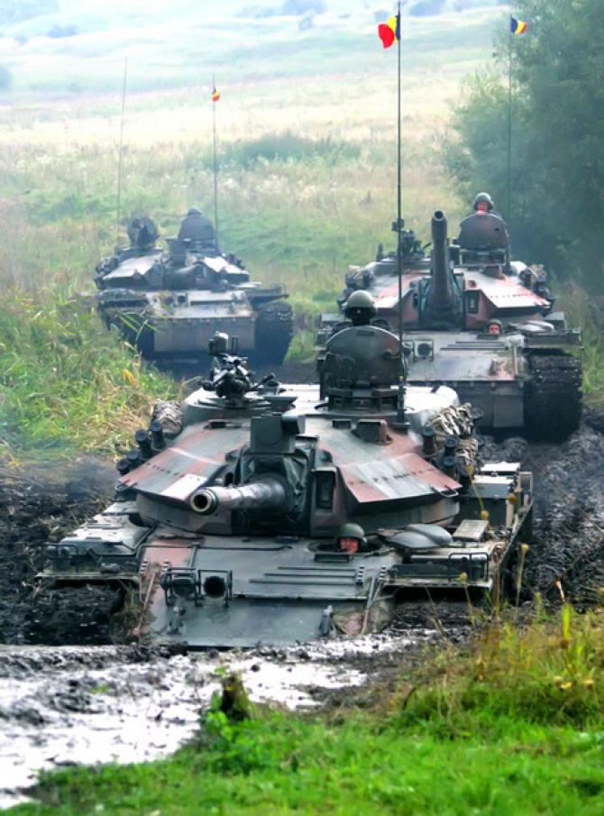 Exercițiu al Forțelor Terestre Române, sursă foto: MApN