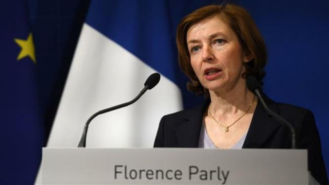 ministrul apărării francez Florence Parly