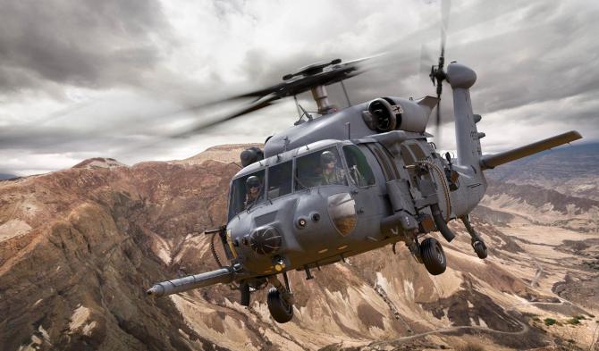 Elicopterul HH-60W, sursă foto: Lockheed Martin