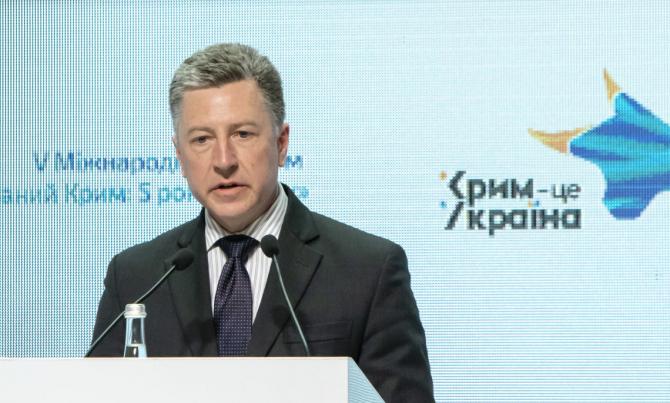 Reprezentantul Special al SUA pentru Ucraina, Kurt Volker