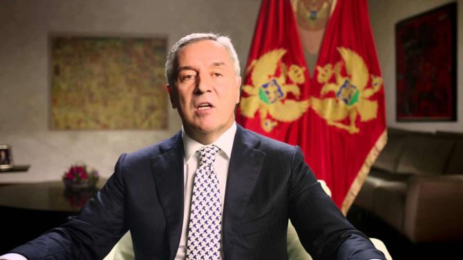 preşedintele muntenegrean Milo Djukanovic