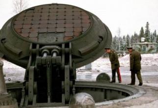 Rusia-siloz de rachete nucleare