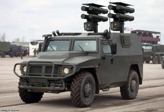 sistemil rusesc auto-propulsat de rachete antitanc, Kornet-EM