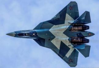 Suhoi Su-57 este proiectul unui avion de luptă de generația a cincea dezvoltat de către Rusia